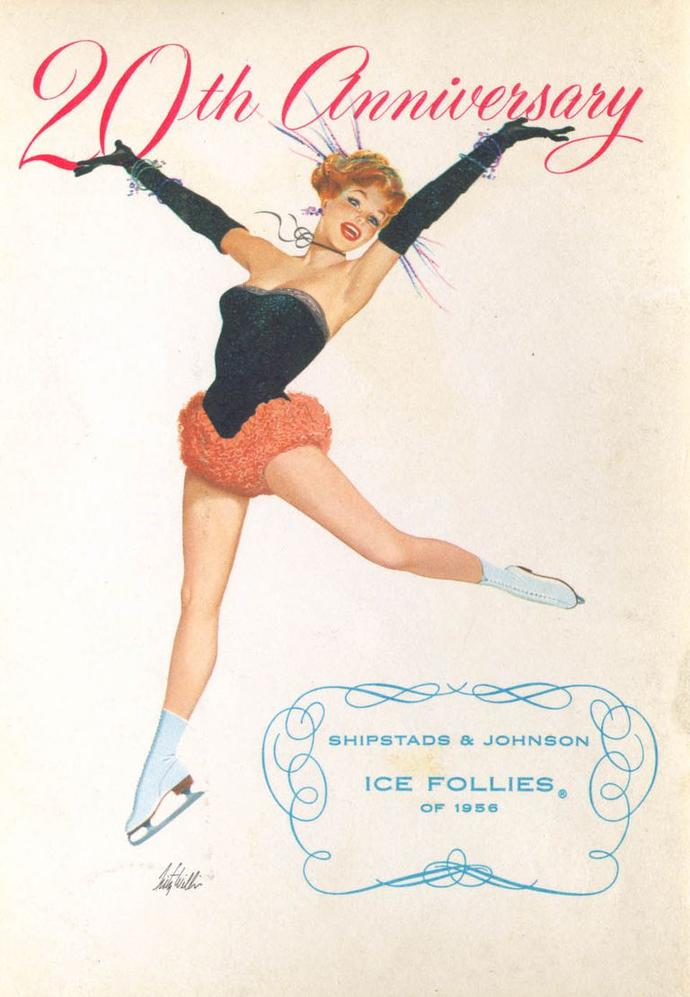 20th Anniversery Ice Follies 1956