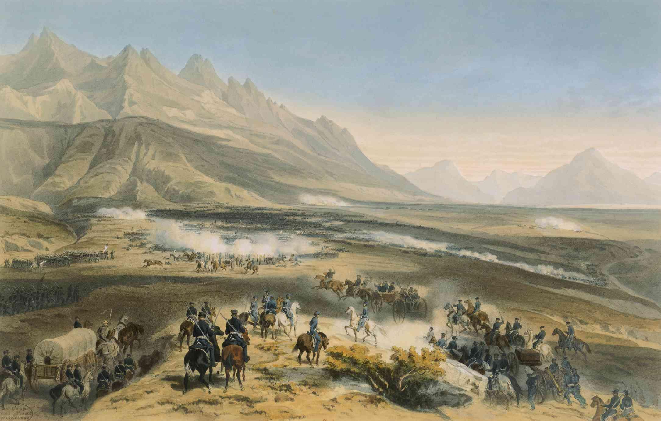 Battle of Buena Vista artwork