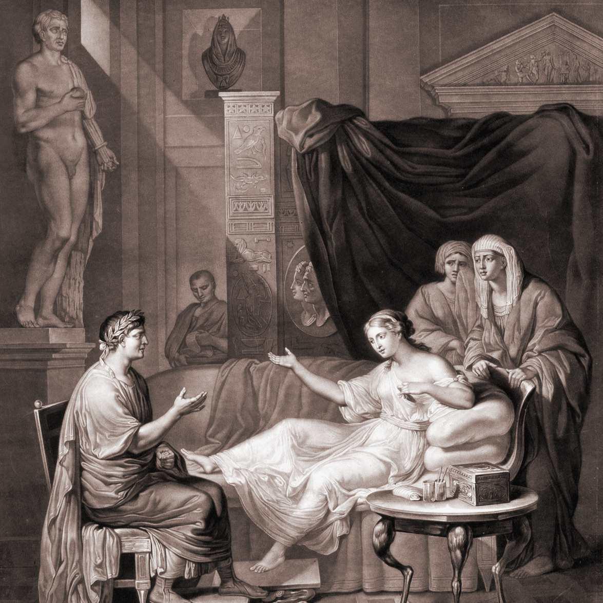 Augustus và Cleopatra