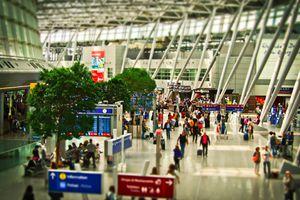 Vista de aeropuerto
