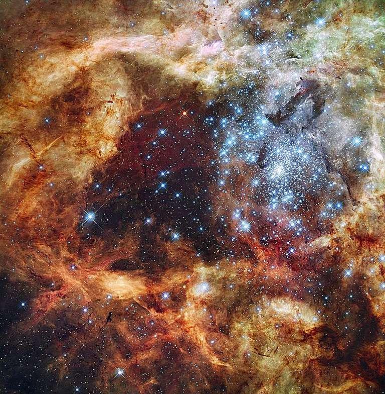 star-forming region R136