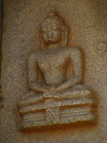 Tirthankara on the HazaraRama Temple