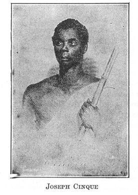 Portrait of Joseph Cinqué
