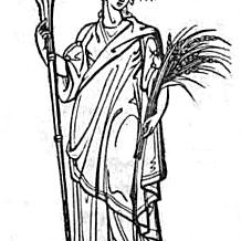 Ceres: Göttinnen aus Thomas Keightleys 1852 Die Mythologie des antiken Griechenlands und Italiens