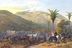 Fighting at Cerro Gordo, 1847