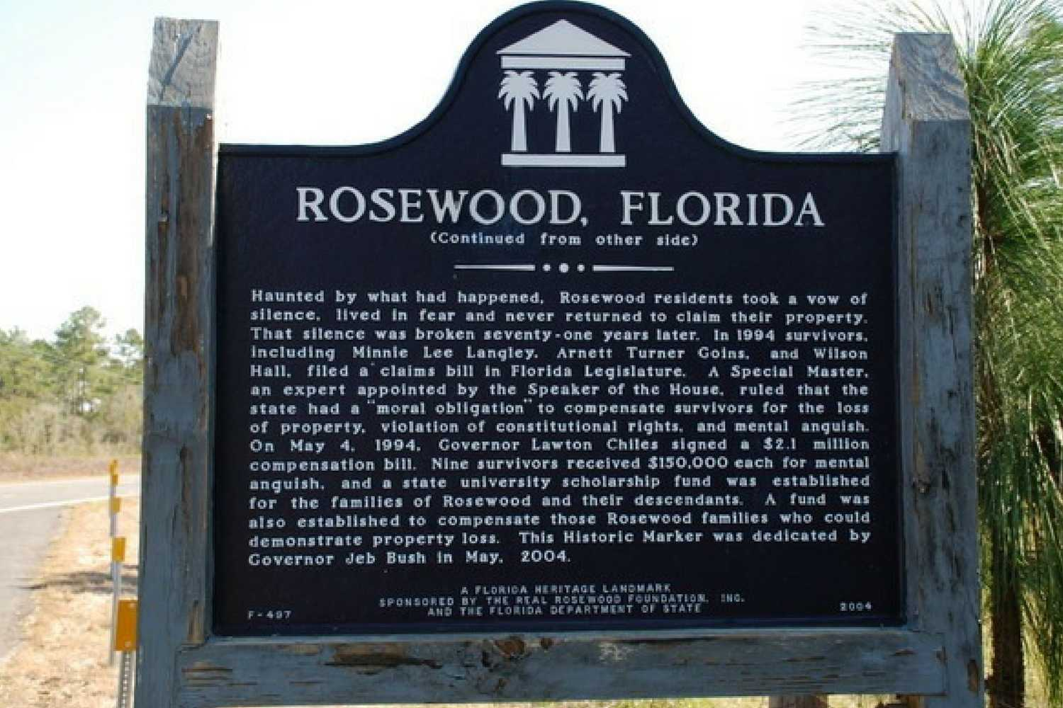 Rosewood Florida Massacre of 1923