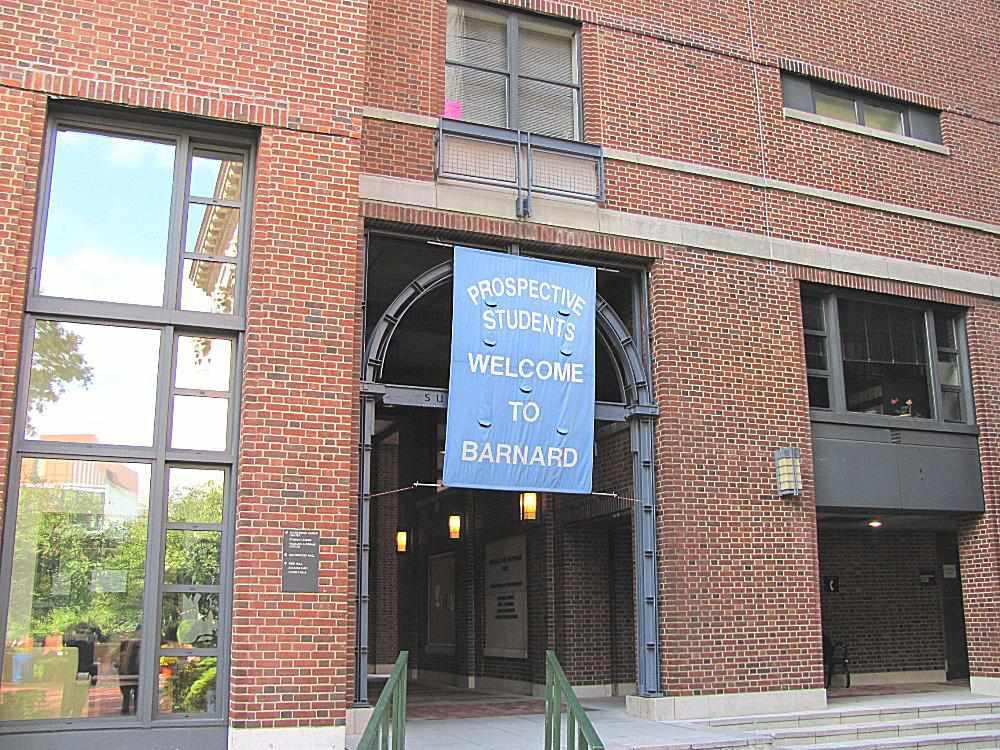 Visitor Center at Barnard College