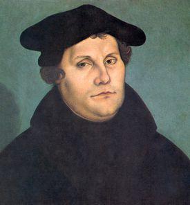 Martin Luther by Cranach