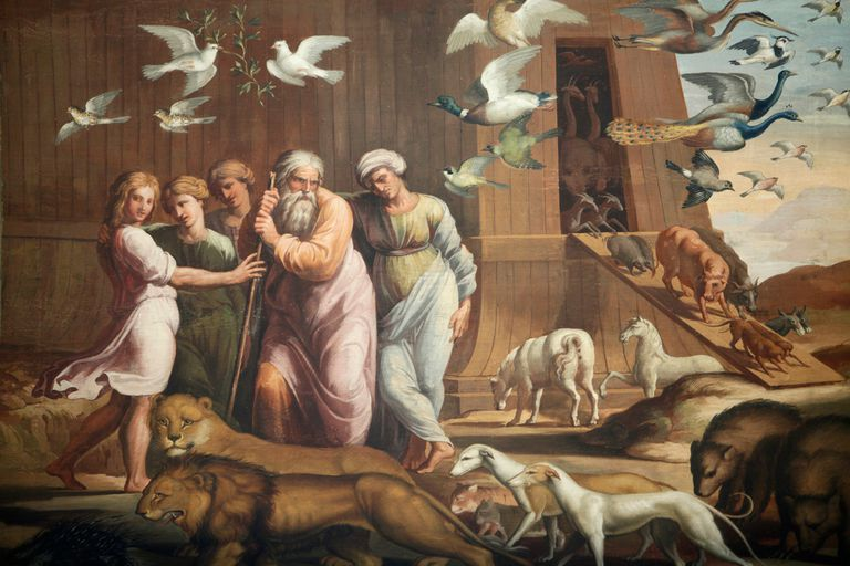 The Story Of Noahs Ark And Flood