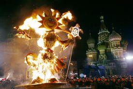 Moscow Celebrates Maslenitsa Festval