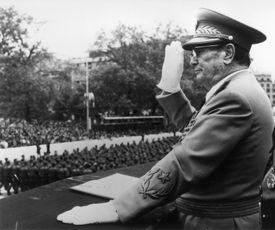 Tito At Parade