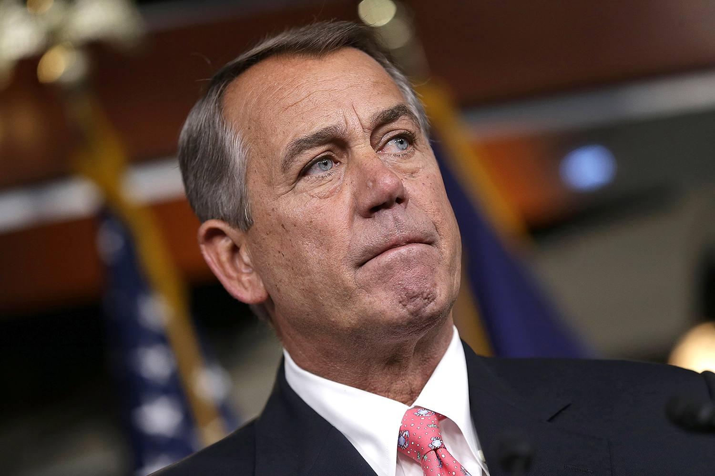 Ο Πρόεδρος της Βουλής John Boehner
