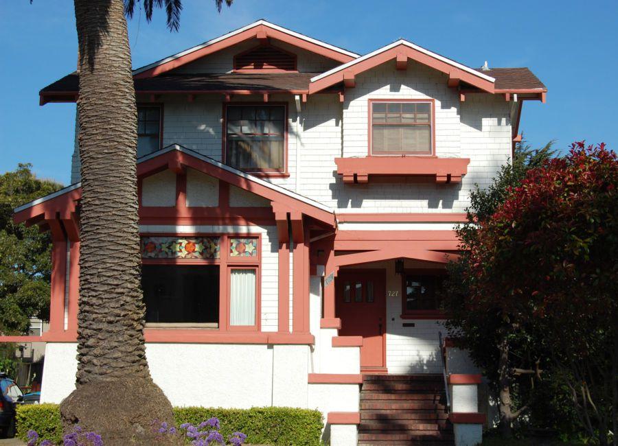 Craftsman House in Ingleside Terraces, San Francisco