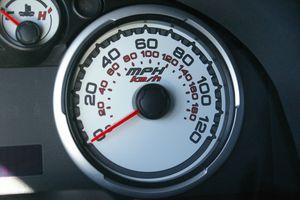 2009 Ford Focus speedometer