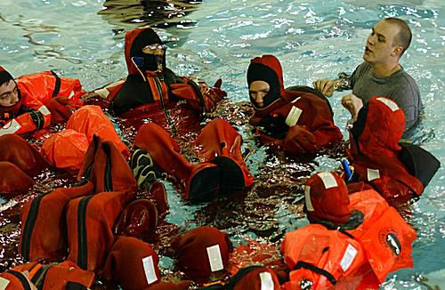 Mariners Develop Many Skills in STCW Training