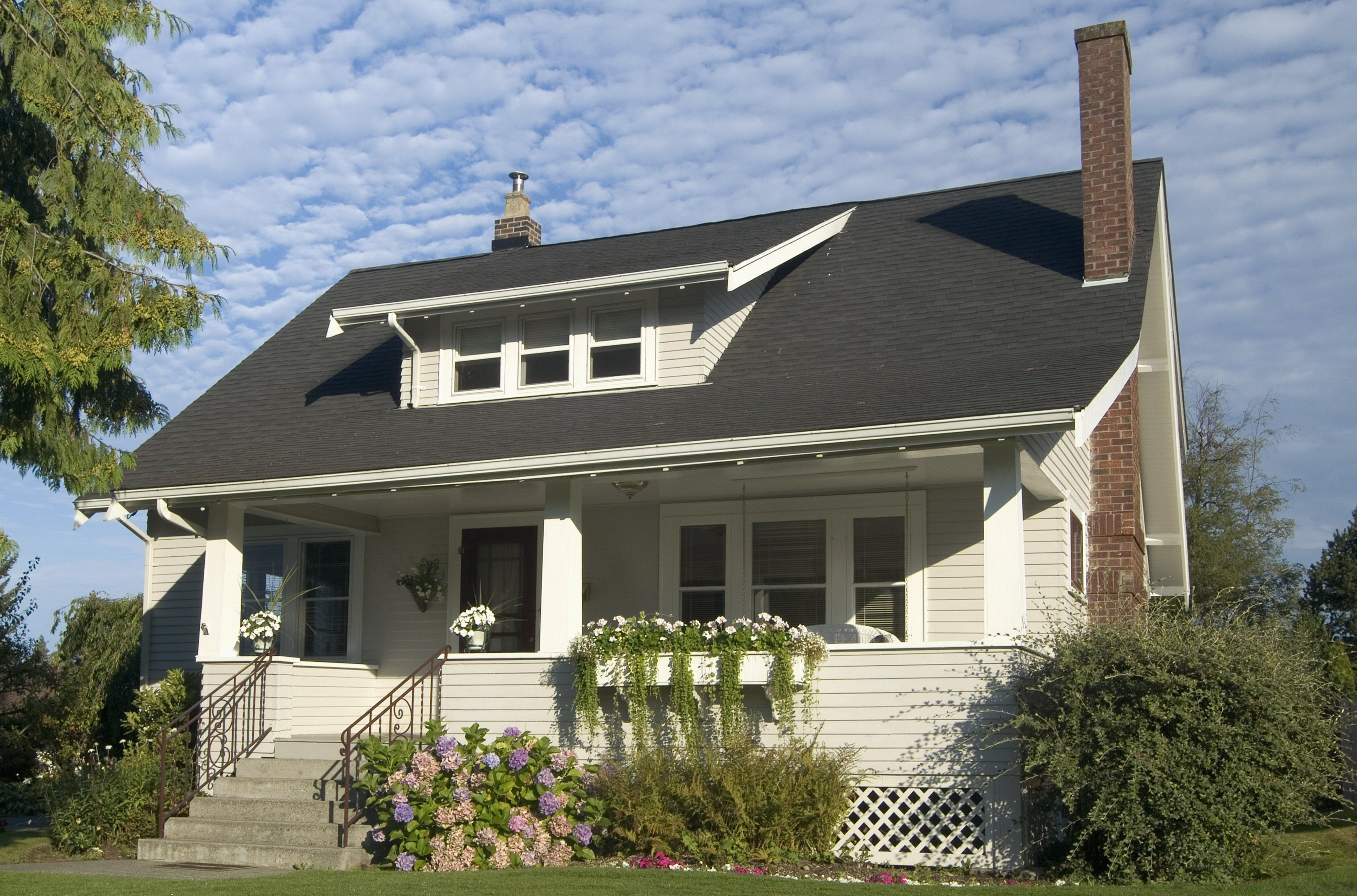Bungalow with Shed Dormer