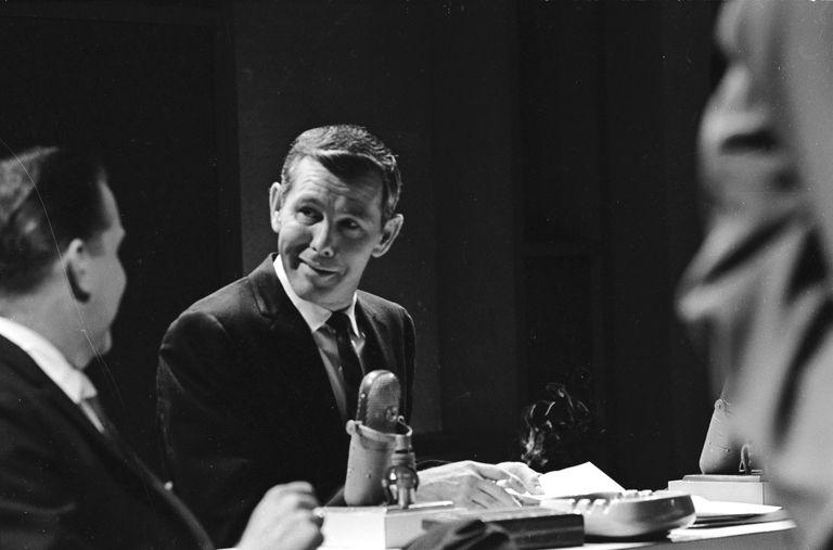 Former 'Tonight Show' host Johnny Carson