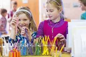 Organize Homework with Color Coded Supplies