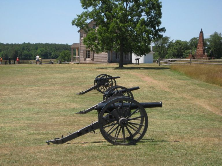 First Battle of Bull Run - Battlefield view