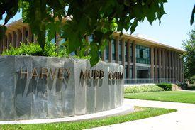 Entrance to Harvey Mudd College