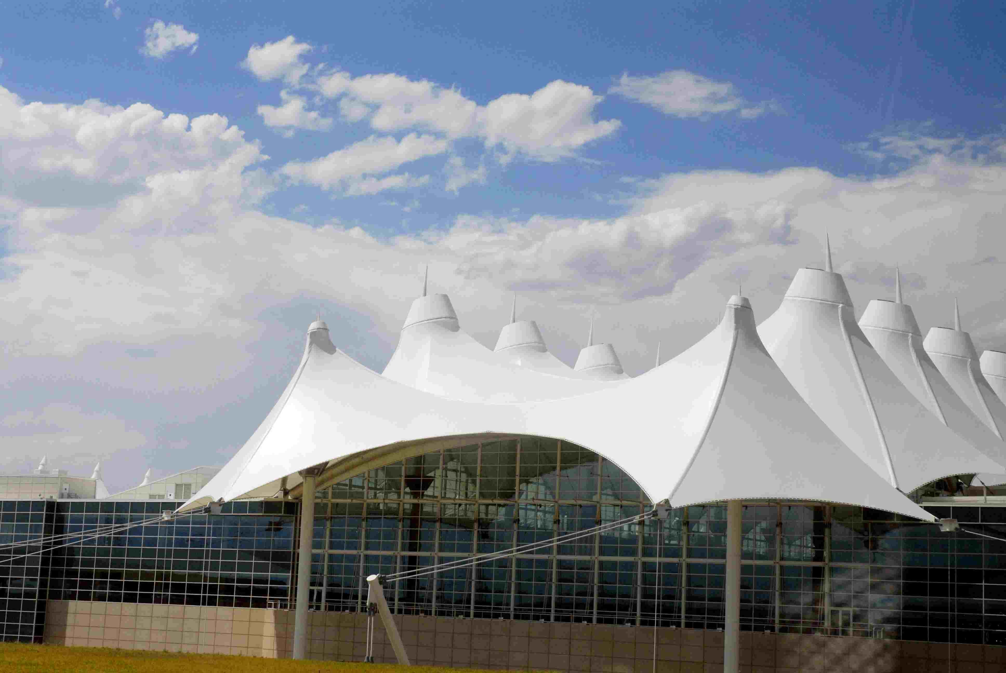 Tensile Membrane Architecture, Denver Airport 1995, Colorado
