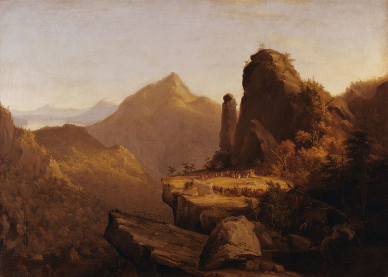 Thomas Cole, Painter of Majestic American Landscapes