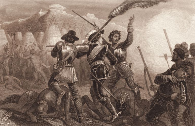 """The Pequot War"""