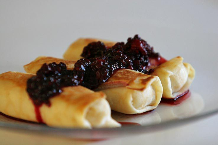 Blintzes for Shavuot