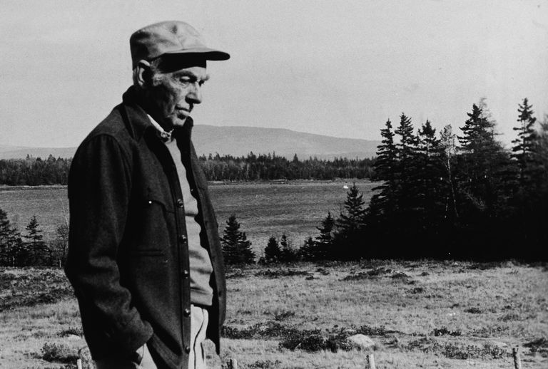 E.B. White At Home