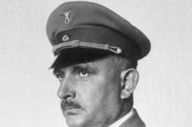 Sterilization Advocate Bernhard Rust Posing in Uniform