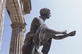 Statue of Apollo, Pompeii, Italy