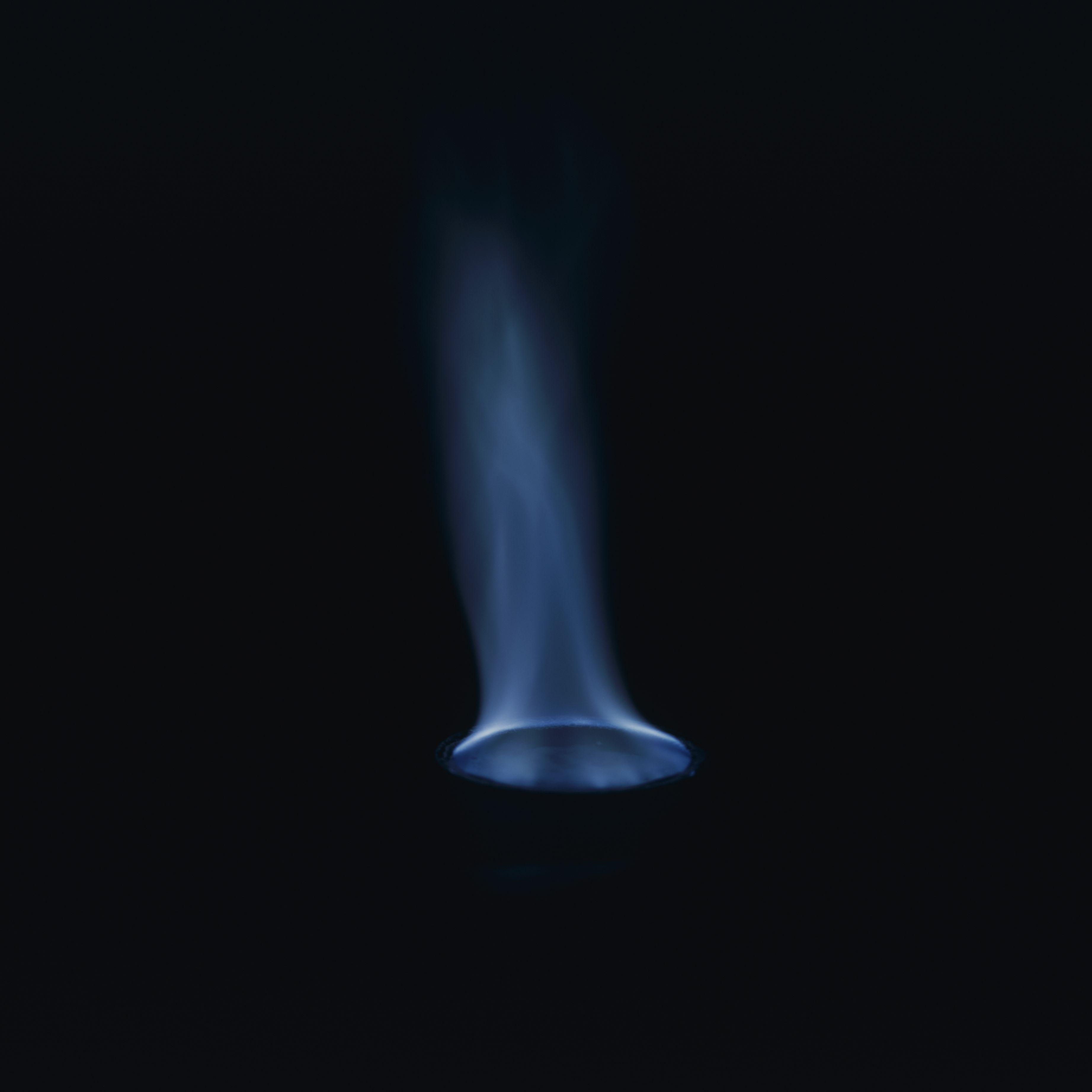 A blue flame test might not tell you which element is present, but at least you know which ones to exclude