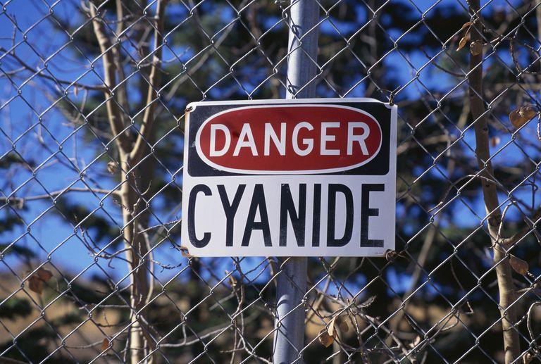 Danger Sign at Cresson Gold Mine