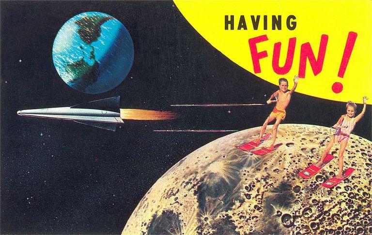Water Skiing on the Moon, Having Fun