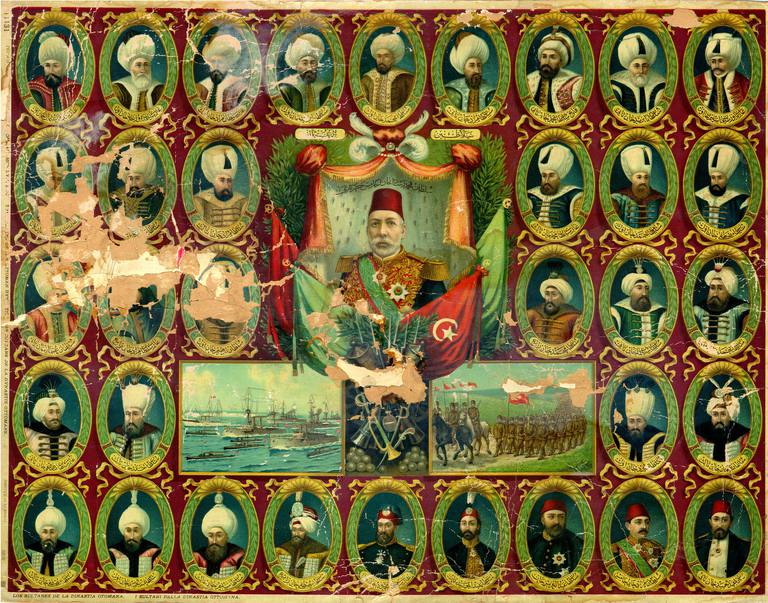The Sultans Of The Ottoman Empire C1300 To 1924