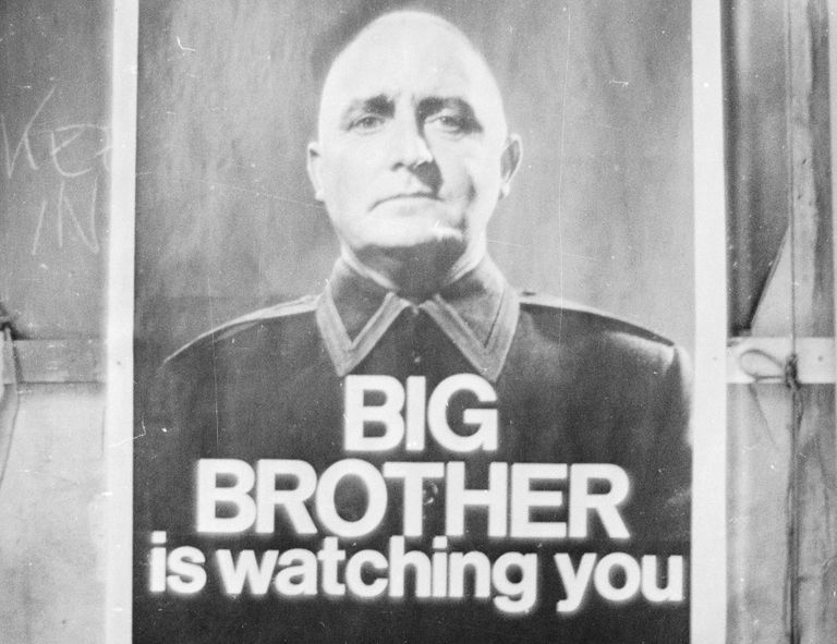 Big Brother poster from 1965 BBC production.