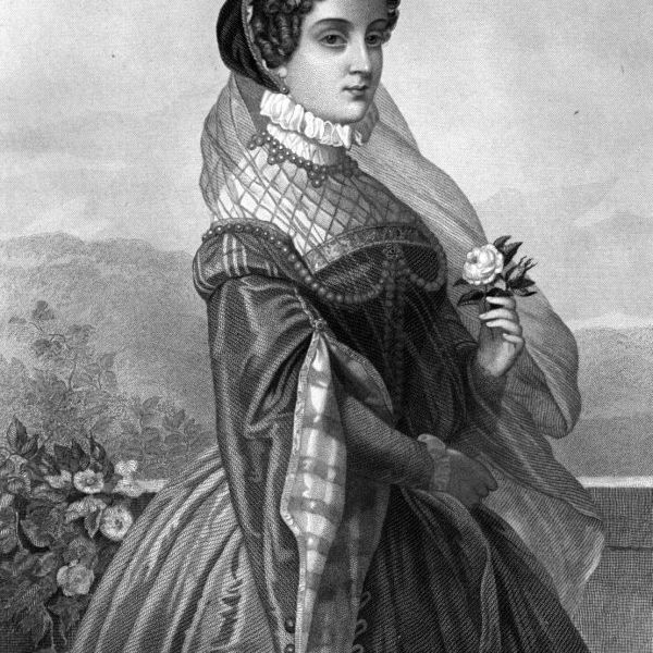 Mary, Queen of Scots, in an 1885 engraving