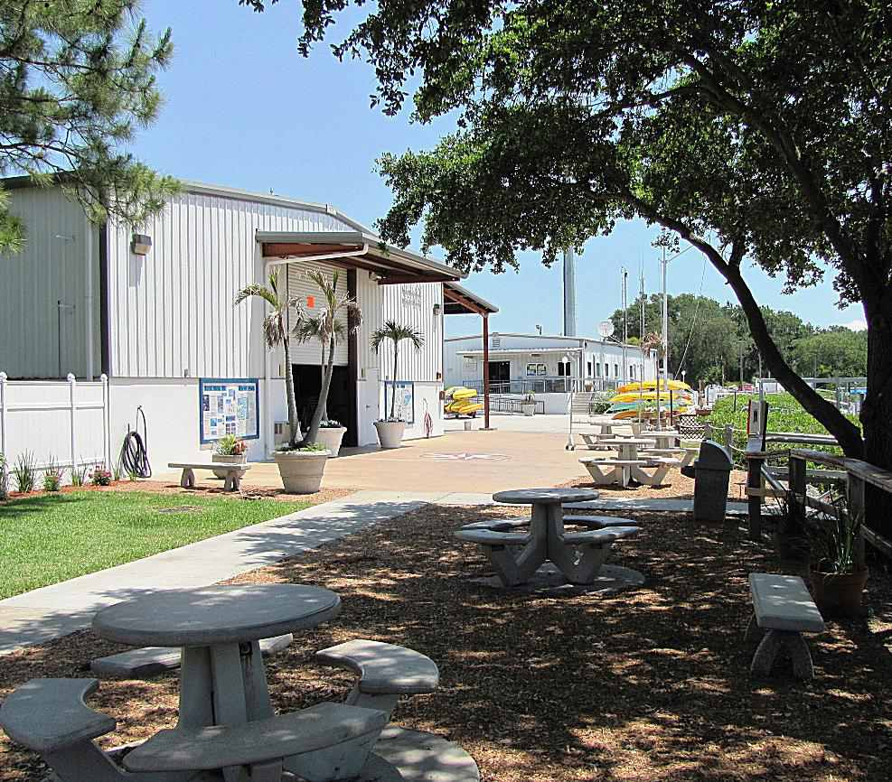 Wallace Boathouse at Eckerd College