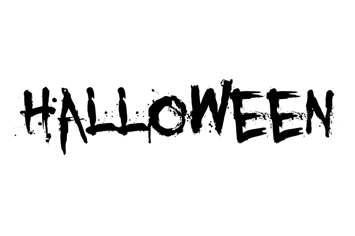 Halloween font called You Murderer BB from 1001fonts.com