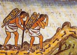 Pochteca Traders with Their Cargo