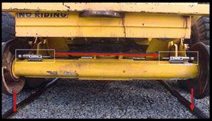 Railway vehicle safety shunt system