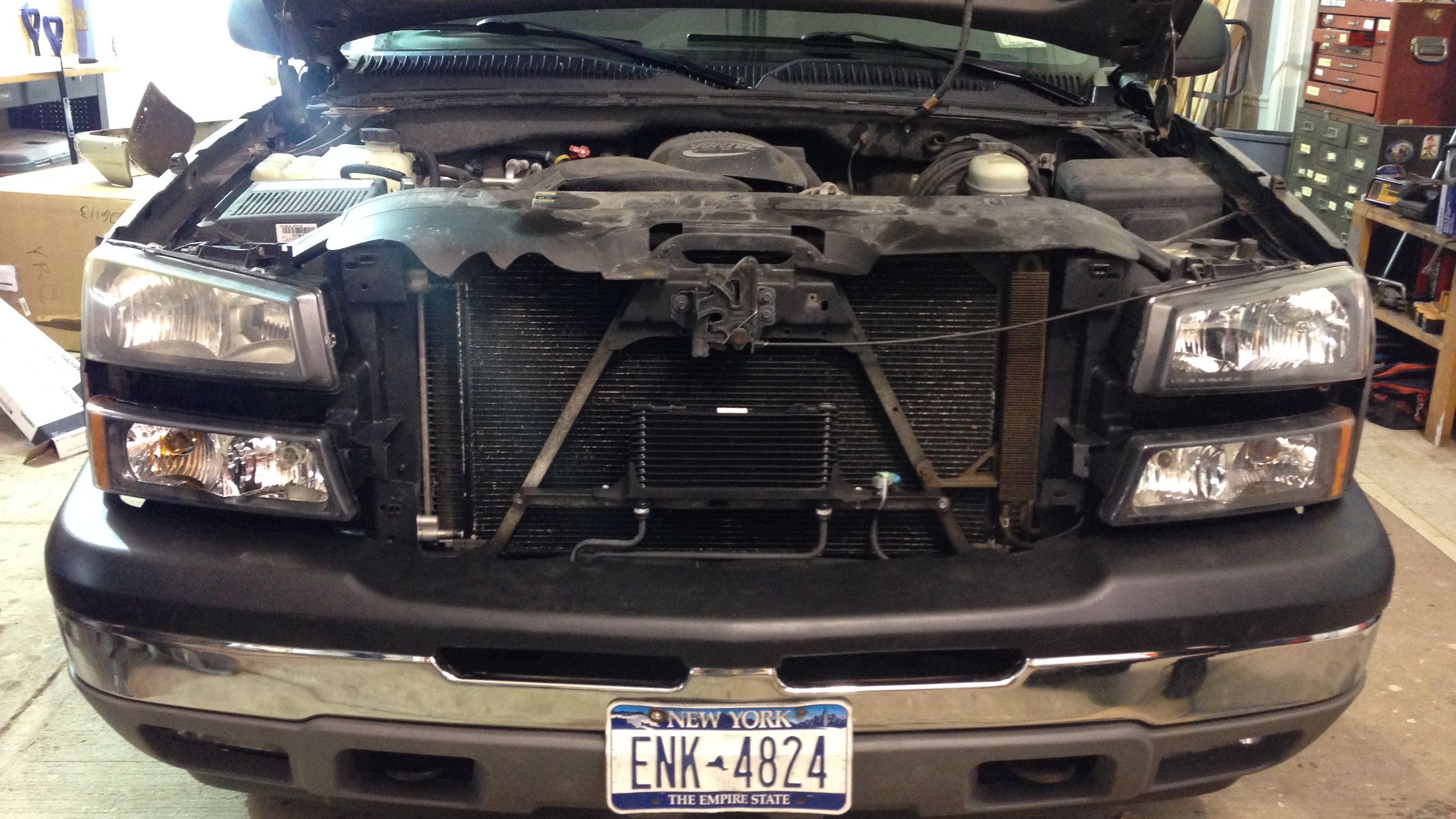 2003 chevy 2500hd transmission cooler lines