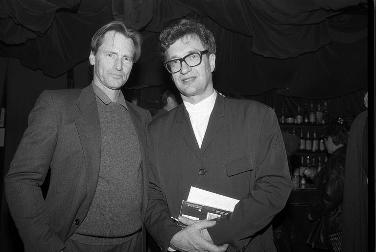 Sam Shepard and Wim Wenders