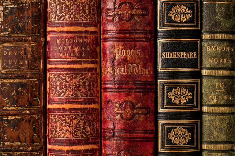 Old books with Shakespeare