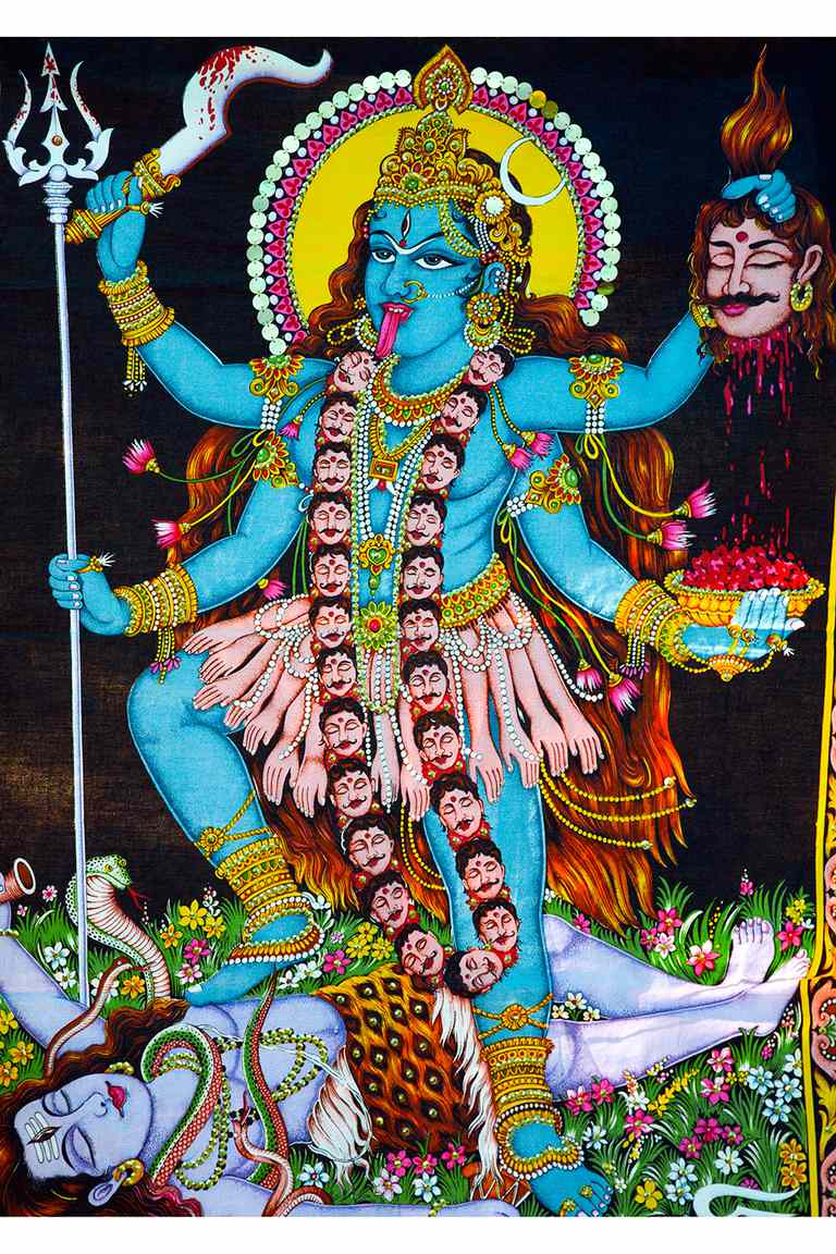 kali the dark mother goddess in hinduism