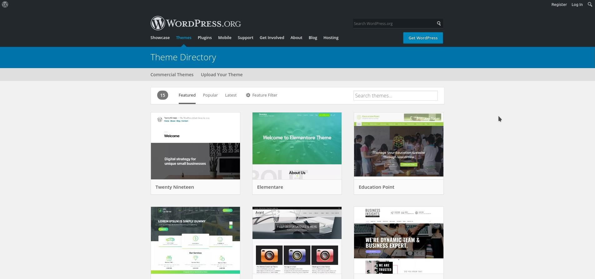 Lucky For You, WordPress Has Tons of Great, Free Themes Available