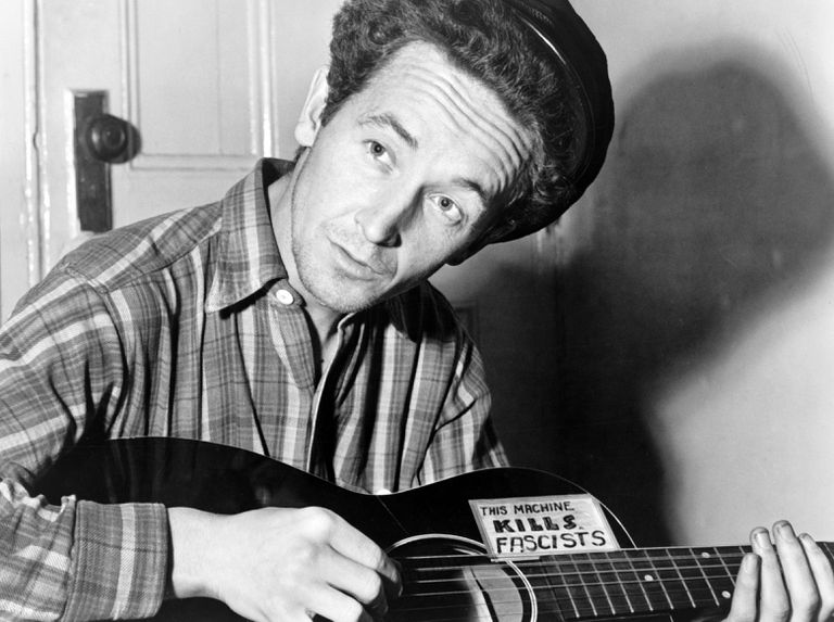 Woody Guthrie Portrait