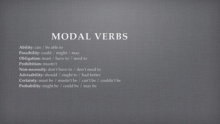 Modal Verbs Quiz with Answer Explanations