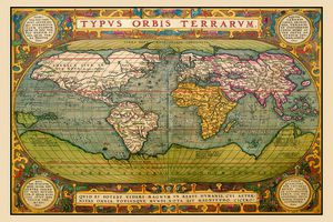 A world map from 1602