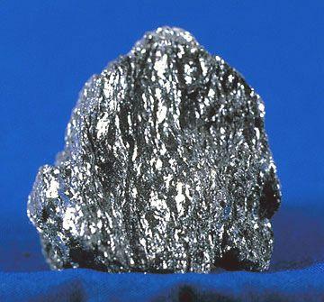 Rough specimen of hematite.